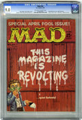 Magazines:Mad, Mad #54 (EC, 1960) CGC VF/NM 9.0 Off-white to white pages. Kelly Freas front and back covers. Interior artists include Wally...