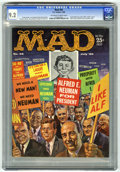 Magazines:Mad, Mad #56 (EC, 1960) CGC NM- 9.2 Off-white to white pages. Kelly Freas cover. Wally Wood, Al Jaffee, George Woodbridge, Mort D...