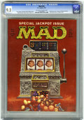 Magazines:Mad, Mad #64 (EC, 1961) CGC NM- 9.2 Off-white to white pages. Treasury of Unknown Poetry. Jack Rickard starts as a regular artist...