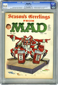 """Magazines:Mad, Mad #68 (EC, 1962) CGC VF/NM 9.0 Off-white to white pages. DonMartin cover. Kelly Freas back cover. """"The Comic Strip Charac..."""