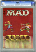 "Magazines:Mad, Mad #70 (EC, 1962) CGC NM- 9.2 Off-white to white pages. ""Museum of Madison Avenue"" advertising spoof. ""Route 66"" TV parody...."