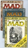 Magazines:Mad, Mad Group (EC, 1956) Condition: Average VG/FN. A bit of editorial turnover is represented in this group, which includes #25 ... (Total: 3 Comic Books)