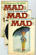 Magazines:Mad, Mad Group (EC, 1960-65) Condition: Average VF+. Includes #55 (SidCaesar story), 63, 71, 73, 76 (Sergio Aragones becomes a r...(Total: 8 Comic Books)