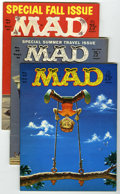 Magazines:Mad, Mad Group (EC, 1961-66) Condition: Average VF. Includes issues #58,65, 67, 74, 78, 80, 81, 82 (Fidel Castro cover), 90 (Fra... (Total:11 Comic Books)