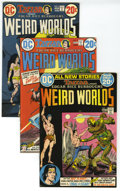 Bronze Age (1970-1979):Miscellaneous, Weird Worlds Short Box Lot (DC, 1972-73) Condition: Average FN/VF.Action and high adventure are here in this lot, which inc...