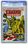 Bronze Age (1970-1979):Science Fiction, Kamandi, the Last Boy on Earth #1 (DC, 1972) CGC NM+ 9.6 Off-white to white pages. Origin and first appearance of Kamandi. F...