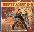 Platinum Age (1897-1937):Miscellaneous, Secret Agent X-9 Book 1 and 2 Group (David McKay Publications, 1934) Condition: FN.... (Total: 2 Comic Books)