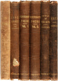Books:Literature Pre-1900, Alfred Tennyson. Group of Six Titles by Tennyson. Boston: Ticknorand Fields, various dates.... (Total: 6 Items)