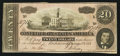 Confederate Notes:1864 Issues, T67 $20 1864 PF-8 Cr. UNL.. ...