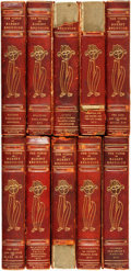 Books:Literature Pre-1900, Robert Browning. The Works of Robert Browning. London:Smith, Elder & Company, 1912.... (Total: 10 Items)