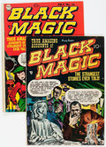 Golden Age (1938-1955):Horror, Black Magic #6 and 14 Group (Prize, 1951-52) Condition: AverageVG.... (Total: 2 Comic Books)