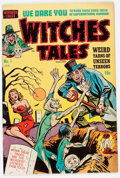 Golden Age (1938-1955):Horror, Witches Tales #1 (Harvey, 1951) Condition: FN....