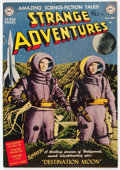 Golden Age (1938-1955):Science Fiction, Strange Adventures #1 Trimmed (DC, 1950) Condition: Apparent VG....