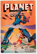 Golden Age (1938-1955):Science Fiction, Planet Comics #48 (Fiction House, 1947) Condition: FN/VF....