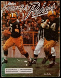 Football Collectibles:Publications, 1960 Green Bay Packers Yearbook - Team's First Yearbook in Franchise History! ...