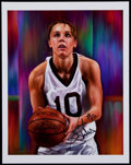 Basketball Collectibles:Photos, Jackie Stiles Signed Print....