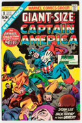 Bronze Age (1970-1979):Superhero, Giant-Size Captain America #1 Group of 7 (Marvel, 1975) Condition:Average NM-.... (Total: 7 Comic Books)