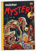 Golden Age (1938-1955):Horror, Mister Mystery #2 (Aragon, 1951) Condition: FN+....