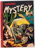 Golden Age (1938-1955):Horror, Mister Mystery #4 (Aragon, 1952) Condition: VG....
