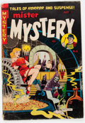 Golden Age (1938-1955):Horror, Mister Mystery #6 (Aragon, 1952) Condition: VG-....