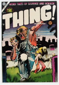 Golden Age (1938-1955):Horror, The Thing! #16 (Charlton, 1954) Condition: VF+....