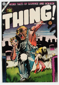 The Thing! #16 (Charlton, 1954) Condition: VF+