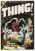 Golden Age (1938-1955):Horror, The Thing! #17 (Charlton, 1954) Condition: VG....