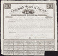 Confederate Notes:Group Lots, Ball 1 Cr. 5A $50 1861 Bond.. ...