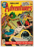 Golden Age (1938-1955):Miscellaneous, Thrilling Adventures in Stamps #8 (Stamp Comics, 1953) Condition: VG....