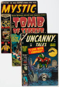 Golden Age (1938-1955):Horror, Golden Age Horror Group of 9 (Various Publishers, 1950s) Condition:Average GD.... (Total: 9 Comic Books)
