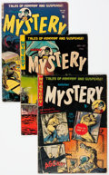 Golden Age (1938-1955):Science Fiction, Mister Mystery Group of 6 (Aragon, 1953-54) Condition: AverageGD.... (Total: 6 Comic Books)