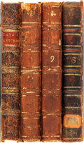 Books:Philosophy, [Thomas Gordon and John Trenchard]. Cato's Letters: or, Essays on Liberty, Civil and Religious, and other Important Subj... (Total: 4 Items)