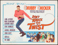 "Movie Posters:Rock and Roll, Don't Knock the Twist (Columbia, 1962). Half Sheet (22"" X 28"").Rock and Roll.. ..."
