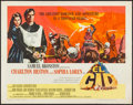 "Movie Posters:Adventure, El Cid (Allied Artists, 1961). Half Sheet (22"" X 28"") Style A.Adventure.. ..."