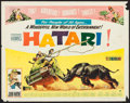 "Movie Posters:Adventure, Hatari! (Paramount, 1962). Half Sheet (22"" X 28""). Adventure.. ..."