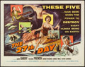"The 27th Day (Columbia, 1957). Half Sheet (22"" X 28""). Science Fiction"