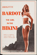 "Movie Posters:Foreign, The Girl in the Bikini (Atlantis Films, 1958). One Sheet (27"" X 41""). Foreign.. ..."