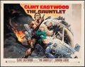 "Movie Posters:Action, The Gauntlet (Warner Brothers, 1977). Half Sheet (22"" X 28""). Action.. ..."