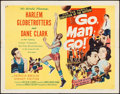 "Movie Posters:Sports, Go, Man, Go (United Artists, 1954). Half Sheet (22"" X 28""). Sports.. ..."