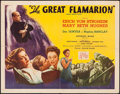 """Movie Posters:Drama, The Great Flamarion (Republic, 1945). Half Sheet (22"""" X 28"""") Style A. Drama.. ..."""