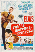 """Movie Posters:Elvis Presley, It Happened at the World's Fair (MGM, 1963). Argentinean Poster(29"""" X 43.25""""). Elvis Presley.. ..."""