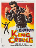 """Movie Posters:Elvis Presley, King Creole (Rene Chateau Editions, R-1978). French Grande (47"""" X62.75""""). Elvis Presley.. ..."""