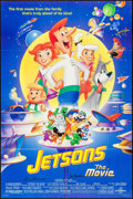 """Movie Posters:Animation, Jetsons: The Movie (Universal, 1990). Autographed One Sheet (26.25"""" X 39.75"""") DS. Animation.. ..."""