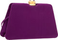 "Luxury Accessories:Bags, Judith Leiber Purple Satin Berry Evening Bag. ExcellentCondition. 7.5"" Width x 4.5"" Height x 2"" Depth. ..."