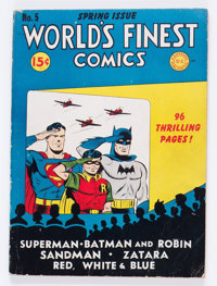 World's Finest Comics #5 Canadian Edition (DC, 1942) Condition: VG+