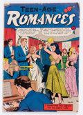 Golden Age (1938-1955):Romance, Teen-Age Romances #17 (St. John, 1951) Condition: VG-....
