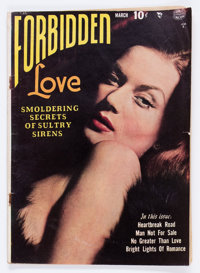 Forbidden Love #1 (Quality, 1950) Condition: GD