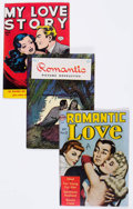 Golden Age (1938-1955):Romance, Comic Books - Assorted Golden Age Romance Comics Group of 3(Various Publishers, 1946-52) Condition: Average FN.... (Total: 3Comic Books)