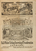 Miscellaneous:Catalogs, [Illustrated Catalogs]. Fall, 1873 Edition of the Central CityPictorial Advertiser. Chicago: Page, Burton & Co....