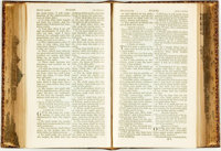 [Fore-Edge Painting]. The Holy Bible, Containing the Old and New Testaments: Translated Out of the Original Ton